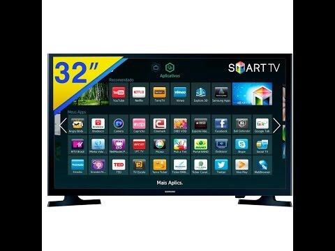 tv samsung smart tv conexión wifi aplicaciones  de 32 pulg
