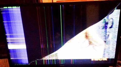 tv samsung un32j4300ag pantalla quebrada en desarme