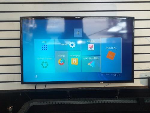 tv samsung un40eh6030g mais box (tx3 mini)todos os canais