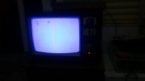 tv semp color antiga funcionando