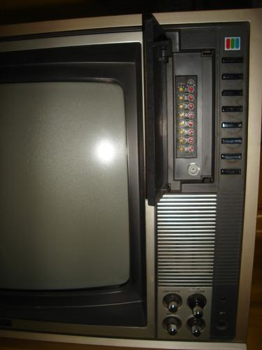 tv semp max color tvc-160 - antiga - impecavel - tudo ok.