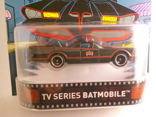 tv series batimovil retro llantas de goma hotweels