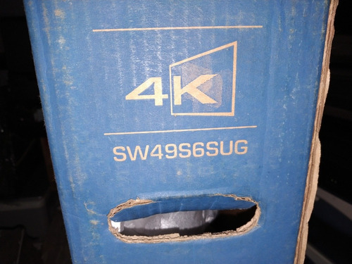tv skyworth 49 pulgadas smart sw49s6sug (ojo pantalla rota )