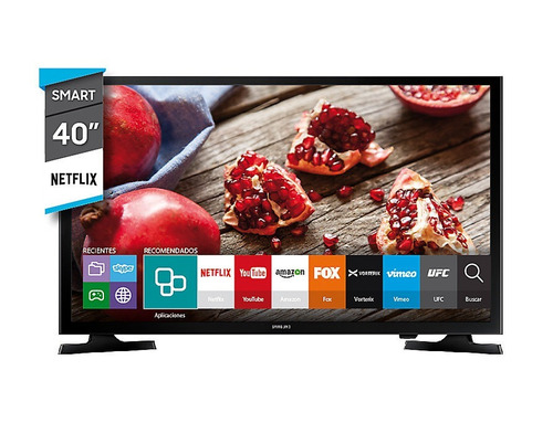 tv smart 40'' samsung full hd un40j5200 6 cuotas sin interes