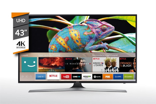 tv smart 43'' uhd samsung un43mu6100g