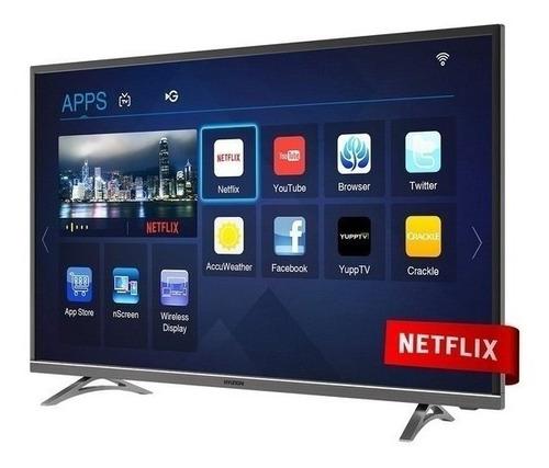 tv smart 4k 43 pulgadas hyundai hdmi hyled-43uhd netflix usb