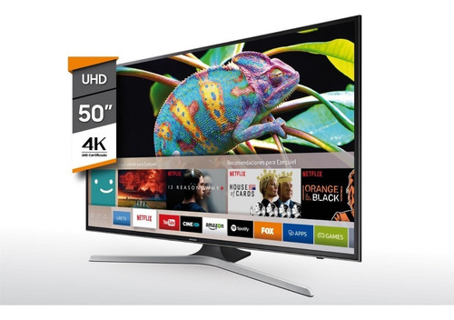tv smart 50'' uhd 4k samsung un50mu6100 6 cuotas sin interes
