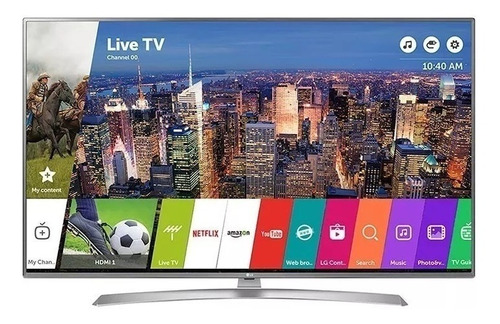tv smart 55 lg led 4k uhd active hrd magic remote uk6550psb