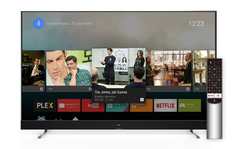 tv smart 55 tcl l55c2 led 4k android tv - oferta