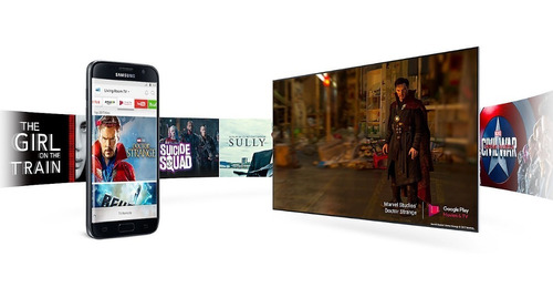 tv smart 65'' uhd 4k samsung un65mu6100