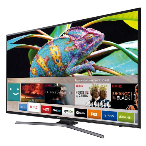 tv smart 65'' uhd 4k samsung un65mu6100