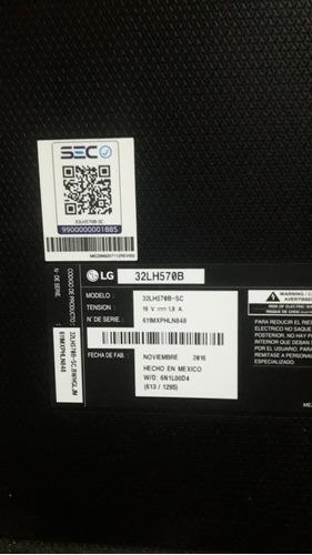 tv smart lg 32 para repuesto.