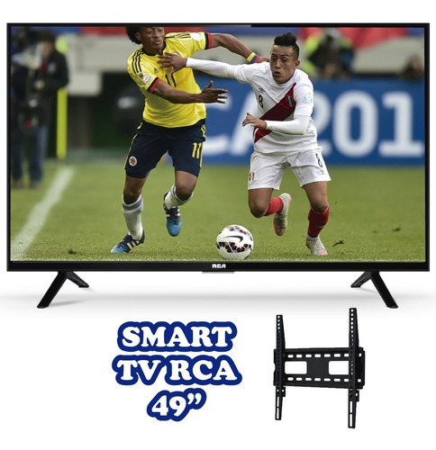 tv smart rca 49  fhd android americana 2 años garantia