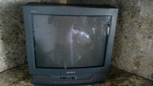 tv sony 21''   trinitron