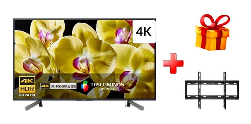 tv sony 75 4k hdr android tv xbr-75x805g + regalo rack