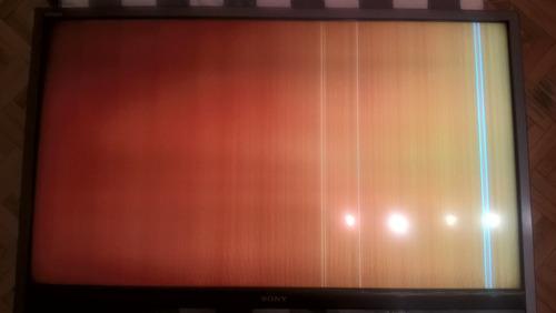 tv sony bravia 46 , para repuestos o reparar