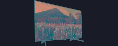 tv sony smart tv 65 4k hdr kd-65x735f