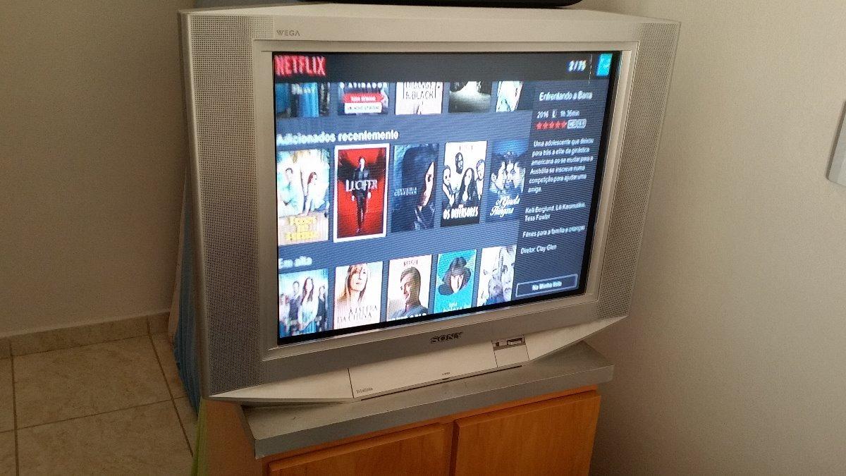 Tv Sony Wega Trinitron 29 Pol - Tela Plana - Bivolt --
