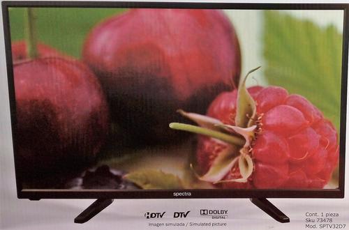 tv spectra 32  hd, hdmi led garantia 1 año
