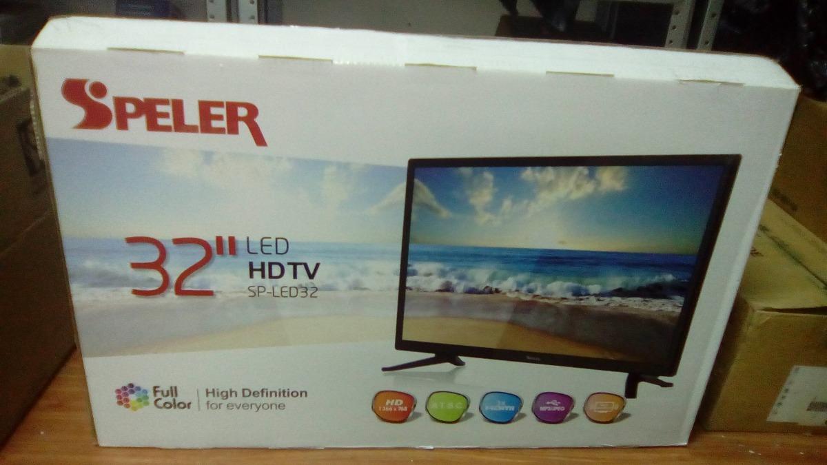 Tv Speler 32 Led Sp-led32 - $ 3,350.00 en Mercado Libre