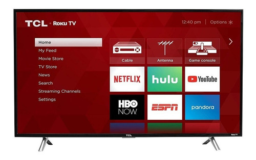 tv tcl 32 pulgadas smart tv  hd wifi roku