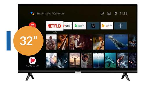 tv tcl 32 smart s60a bluetoot android controlde voz +soporte