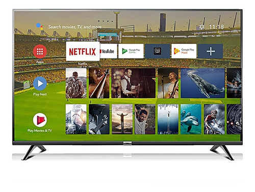 tv tcl 43 full hd y 43 4k smart android control voz l43s650