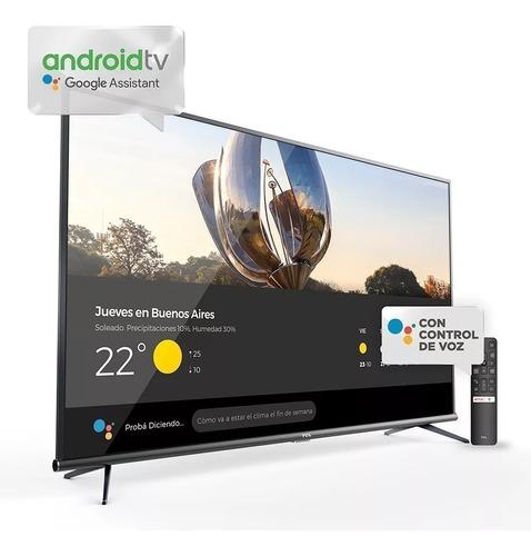 tv tcl 55 4k android 2021 control voz l55p615 soporte gratis