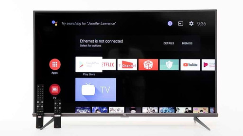 tv tcl 55 4k p8m android smartv hdr +control voz blackfriday