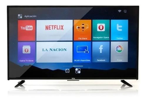 tv tcl 65 smartv l65p8m android control de voz 4k!! netflix!