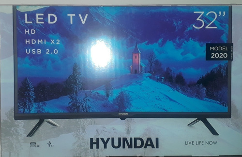 tv televisor hyundai led 32 plg  modelo 32an6000mf año2019
