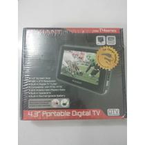 Televisor Digital A Color Portátil Lcd 4.3 Pulgadas