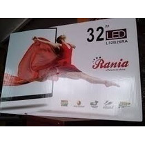 Televisor Led 32 Ultra Slim Marca Rania