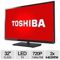 Televisor Toshiba 32 Pulgadas 720p Led Tv 2 X Hdmi Usb 1400u