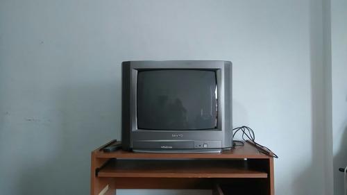 tv tubo sanyo 21'' c/control remoto