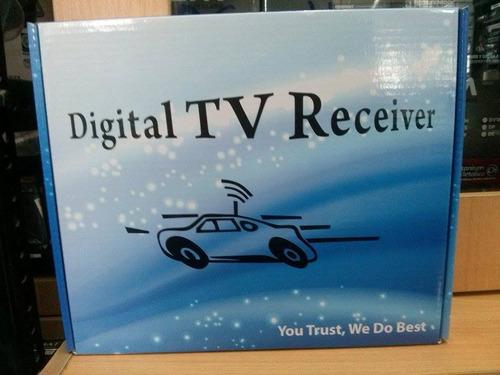 tv tuner digita para todo tipo de radio con entrada de video