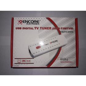 Tv Tuner Full Hd Sintonizador Digital Usb Futbol Para Ver Tv