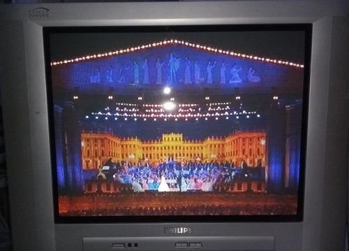 tv usada tela plana philips 22 polegadas colorida