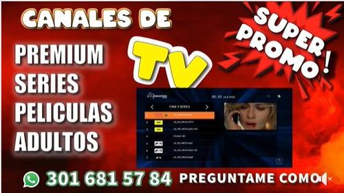 tv x internet +3000 canales por tan solo $15.000 , series y