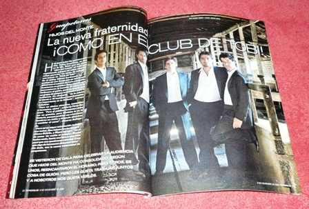 tv y novelas chile noviembre 2008 jonas brothers miley cyrus