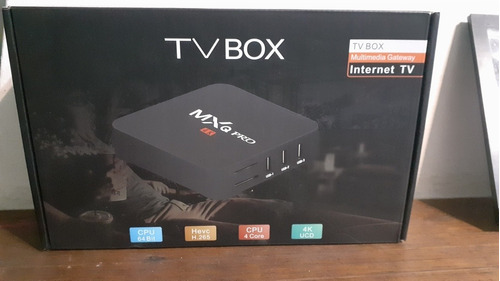 tv.box 4k, para transformar tu televisión en smart.