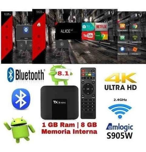tv.box tx3 androi 8.1 youtube 2 ram / rom16 bluetooth