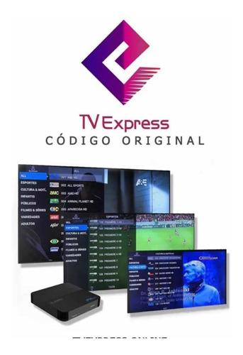 tve express 1 mês entrega imediata 24h online