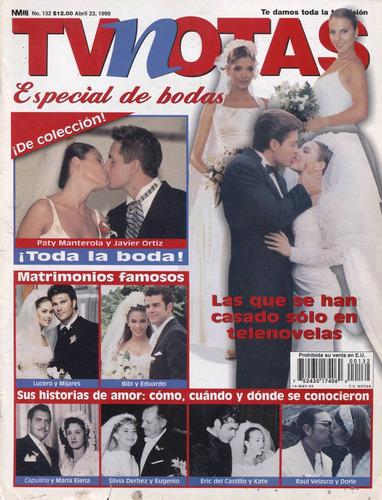 tvnotas revista de bodas. lucero, thalia, bibi, maría félix