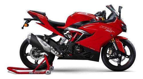 tvs 310 rr en sauma motos entrega inmediata rojo
