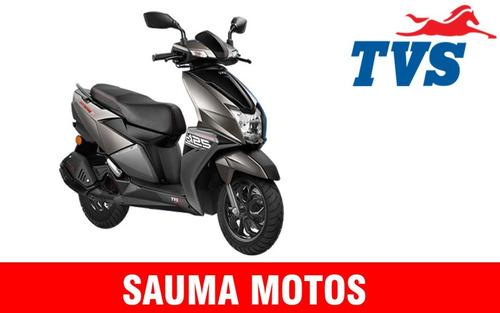 tvs ntorq 125 0km gps sauma motos 12 cuotas de $14300