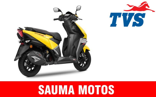 tvs ntorq 125 0km gps sauma motos 12 cuotas de $17500