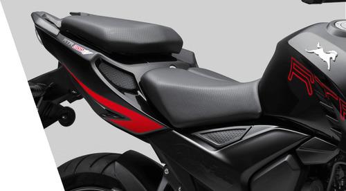 tvs  rtr 200 0km 2019 0 km  999 motos blanco calle nacked