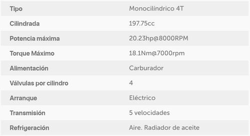 tvs rtr 200 0km 2020 calle $90.000 + cuotas 999 motos