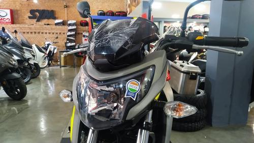 tvs rtr 200 fi gris  casco de regalo sauma motos